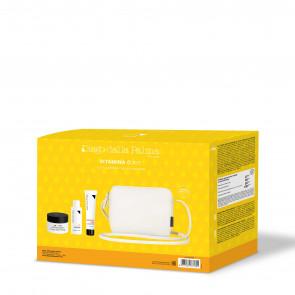 Vitamina C Kit 2020 -  Crema Illuminante Anti Rughe 24 Ore 50ml - Tonico Siero Levigante 50 Ml - Crema Mani Nutriente Levigante 30 Ml - White Beauty Case