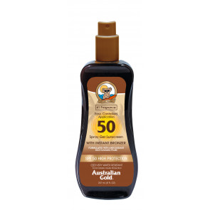 Spf 50 Spray Gel Con Bronzer