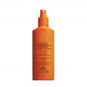 Latte Spray Superabbronzante Idratante Spf15