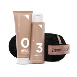 Body Trainer Kit - 0.Esfolia - Scrub Dermo Rinnovatore + 3. Rassoda - Crema Anticellulite Tonificante + Body Trainer Beauty Bag