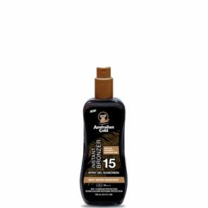 Instant Bronzer Spray Gels Sunscreen SPF 15 con effetto Bronze Travel Size