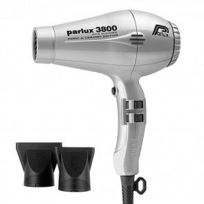 Parlux 3800 Eco Friendly Ionic & Ceramic Argento - Asciugacapelli