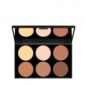 Pro Palette Con Duo Brush For Face & Eyes