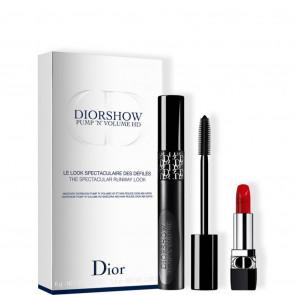 Diorshow Pump 'N' Volume HD Cofanetto mascara e rossetto