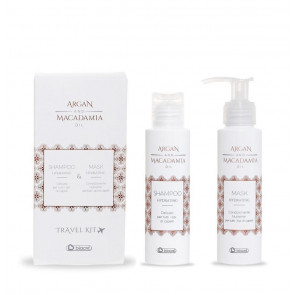 Argan and Macadamia Oil Travel Kit