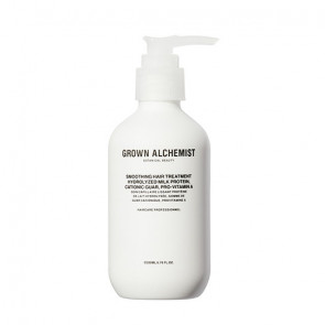 Smoothing Hair Treatment: Hydrolyzed Milk Protein, Cationic Guar, Pro-Vitamin A