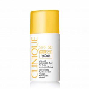 Spf 50 Mineral Sunscreen Fluid For Face - Fluido Protettivo Minerale Viso Per Pelli Sensibili